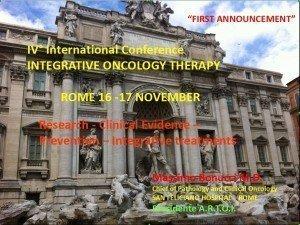 IV Congresso Terapie Oncologiche Integrate ARTOI