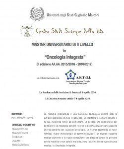 master-artoi-oncologia-integrata
