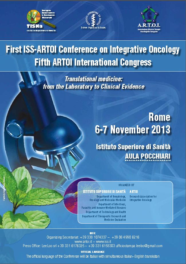 Conclusioni sulla Prima Conferenza ISS-ARTOI di Oncologia Integrata