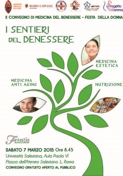 """Convegno """"I sentieri del benessere"""" Roma – 07/03/2015"""