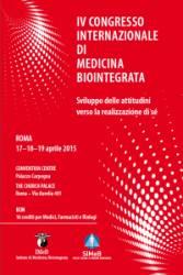 IV Congresso Internazionale di Medicina Biointegrata, Roma – 17/04/2015