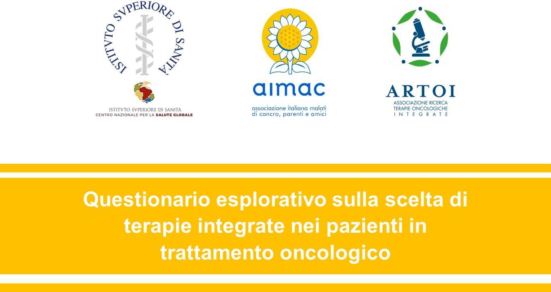 Questionario su terapie integrate per pazienti oncologici