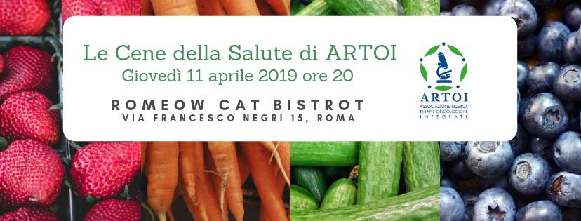 Cene della Salute ARTOI 09| Romeow Cat Bistrot