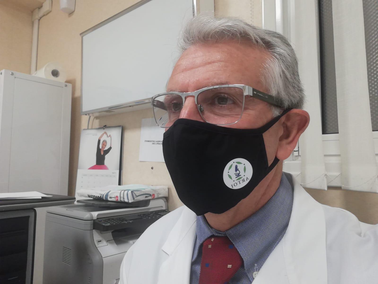 Il nostro Prof. Bonucci indossa le mascherine ARTOI