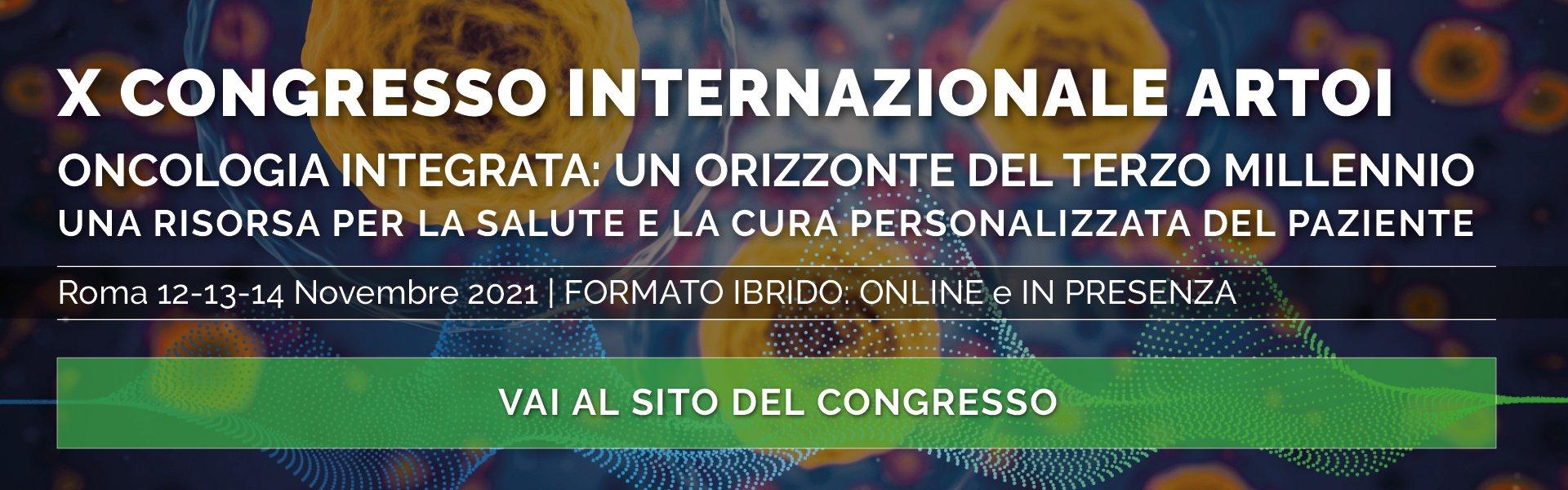 X INTERNATIONAL ARTOI CONGRESS